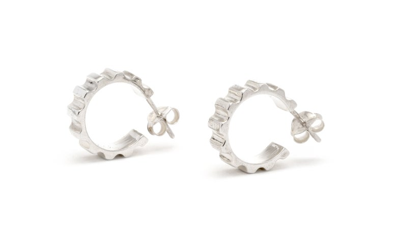 Image of Parmentier hoop earrings