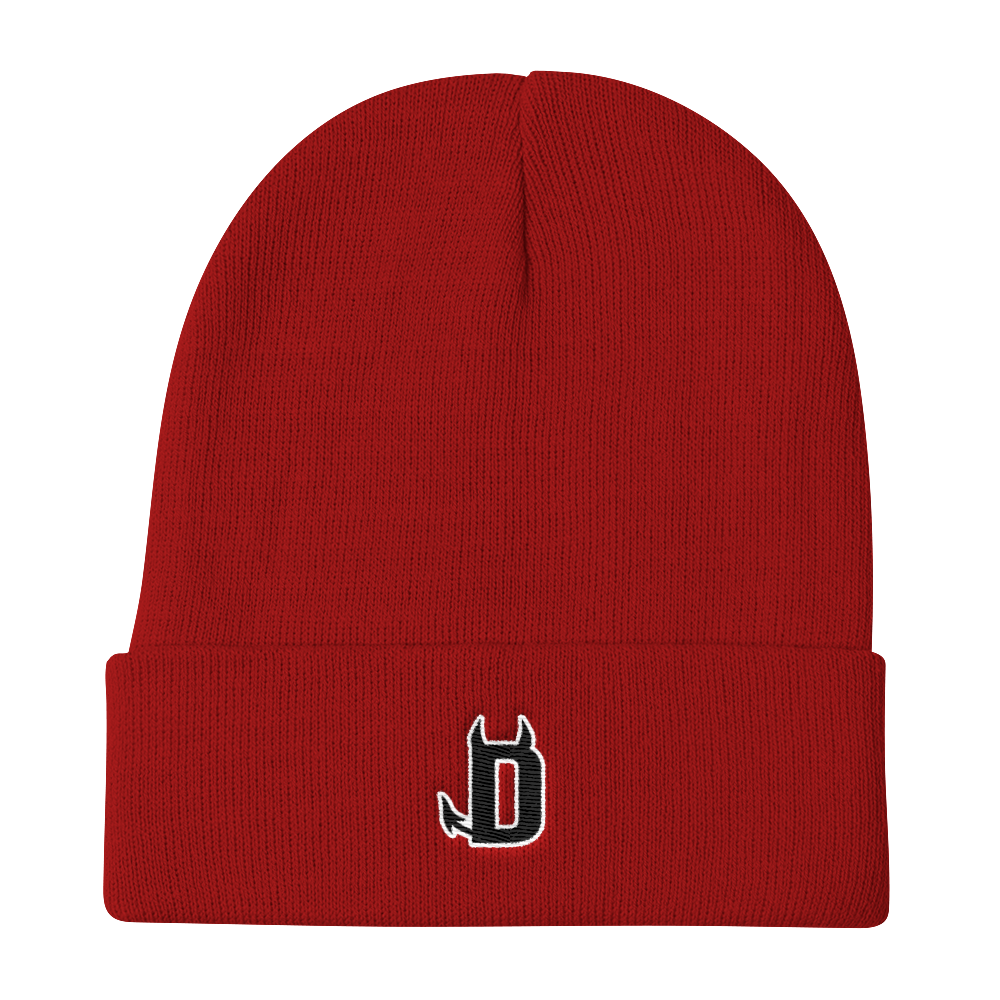 Image of DAVILLE LOGO - BEANIE [RED]