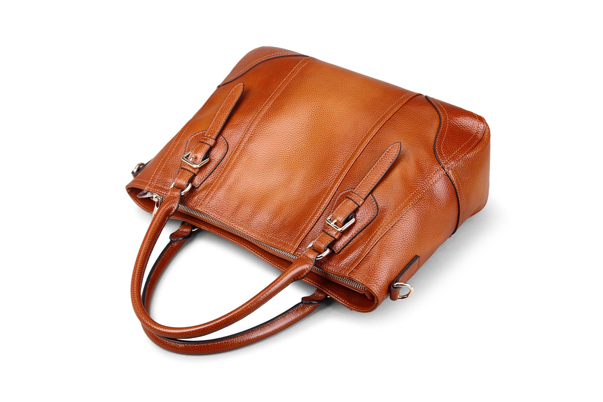18f6b8b4c9 2 Colors Handmade Women Top Handle Handbags Satchel Shoulder Bag for Lady  Purse Tote Bag SL9290