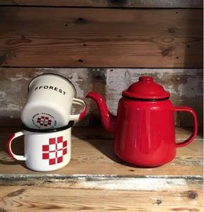 Image of fforest enamel tea for two gift set