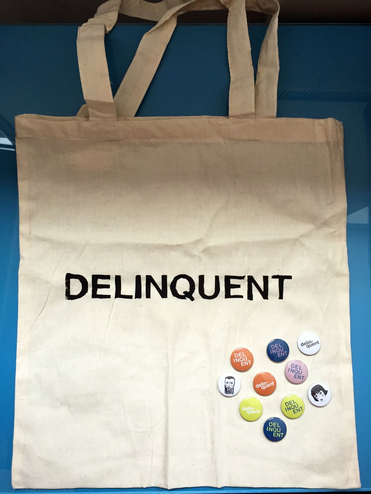 Image of Delinquent Tote Bag
