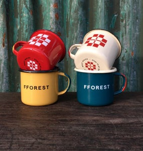 Image of fforest enamel mug