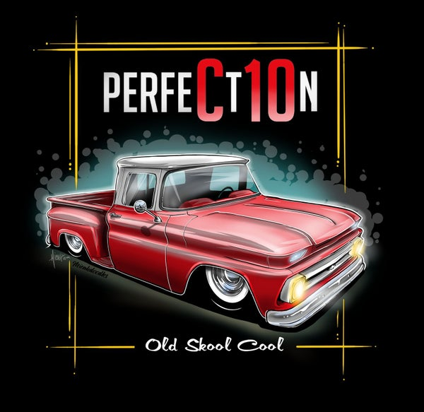 Image of 62 Perfection Red Stepside