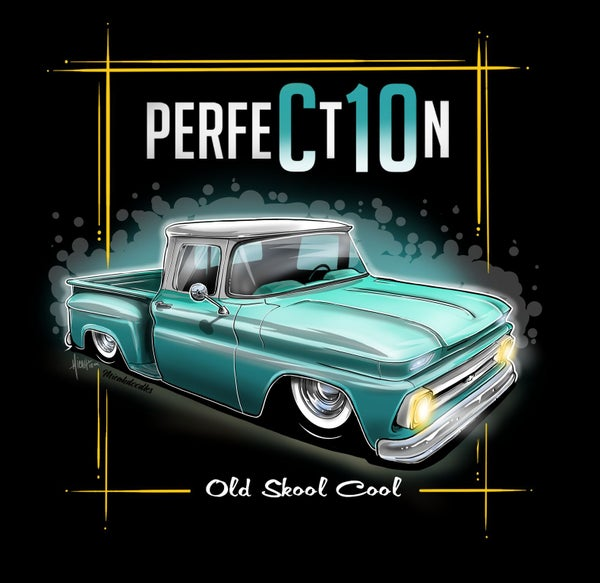 Image of 62 PerfeCt10n teal stepside