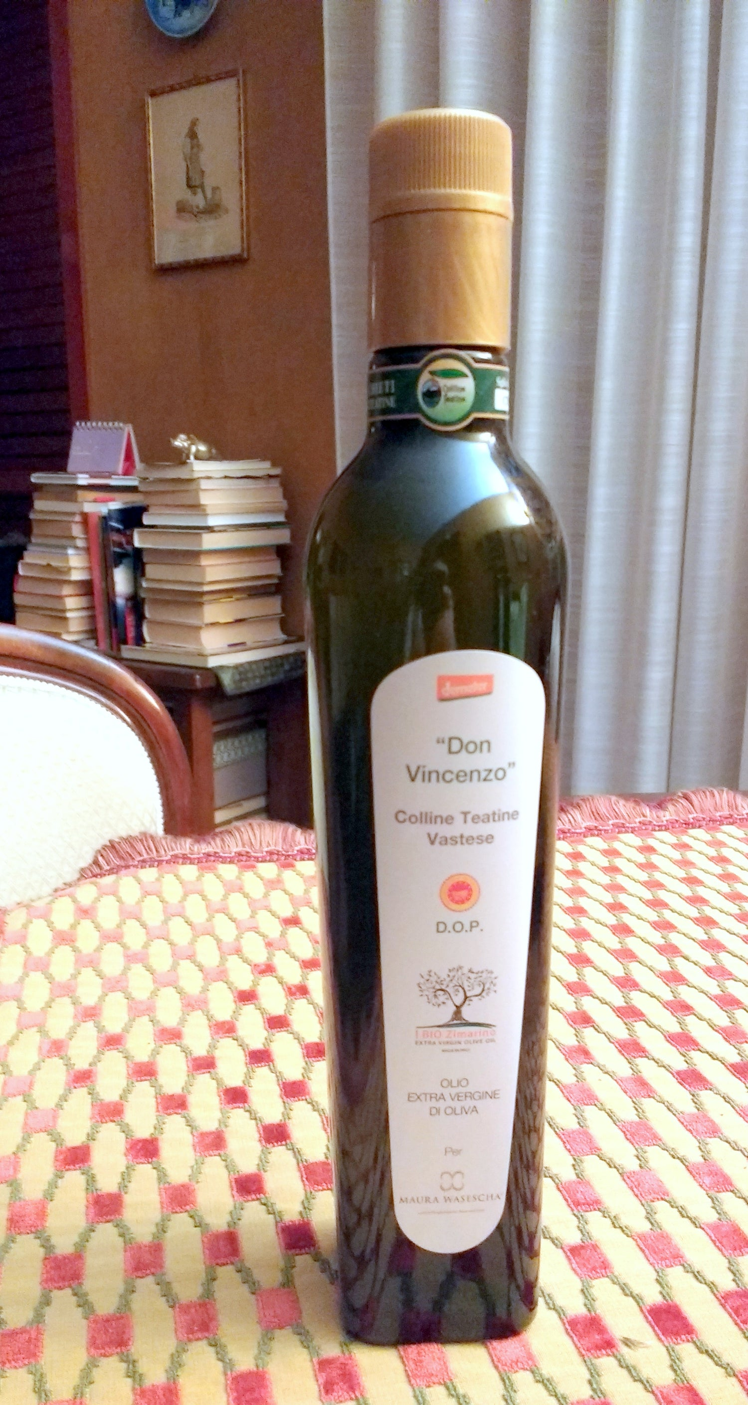"Image of ""Don Vincenzo"" Colline Teatine D.O.P. - Organic and Biodynamic Demeter"