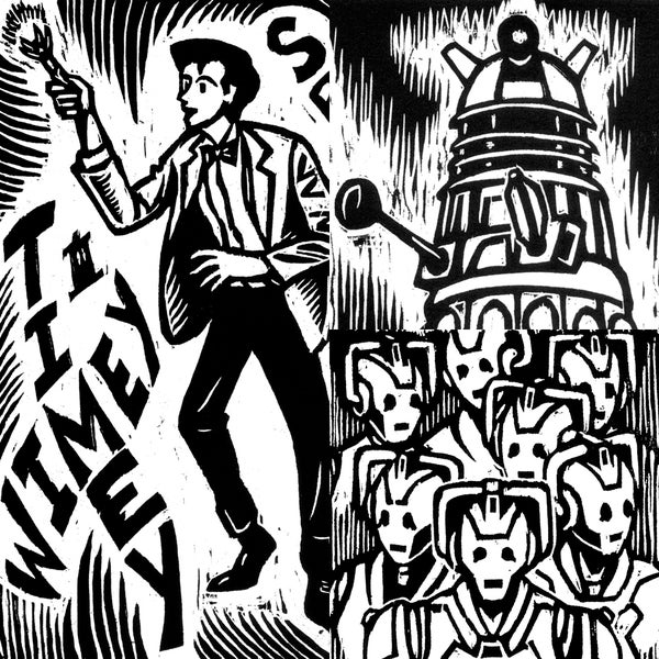 Image of 'Doctor Who' Print Set