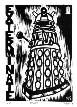 Image of 'Doctor Who' Print Set