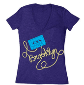 Image of BK Cassette Tape VNeck