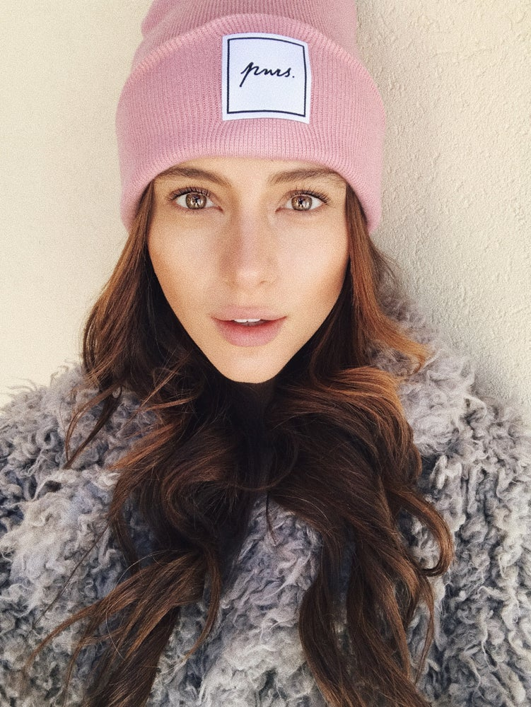 Image of Beanie Rosa | Label Patch