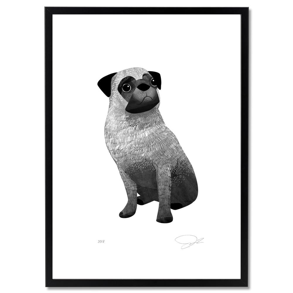 Image of Print: Pug