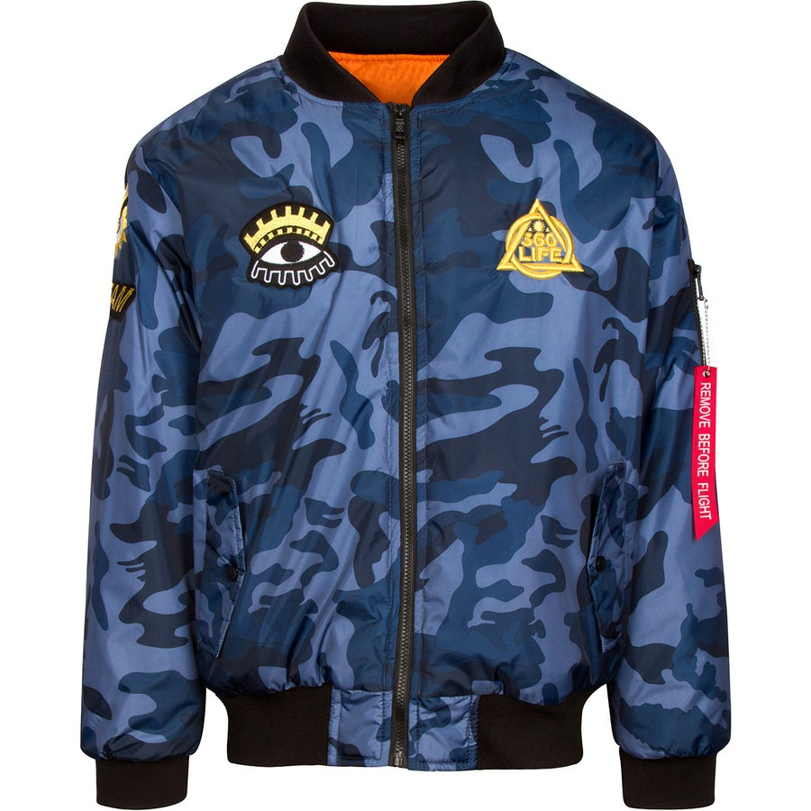 "Image of Limited Edition ""Dream Dawg"" Custom Bomber"