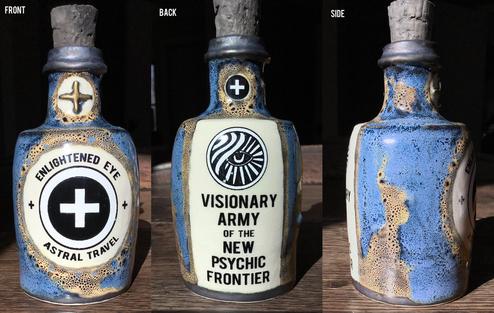 Image of Ceramic Bottle 9 - Astral Army