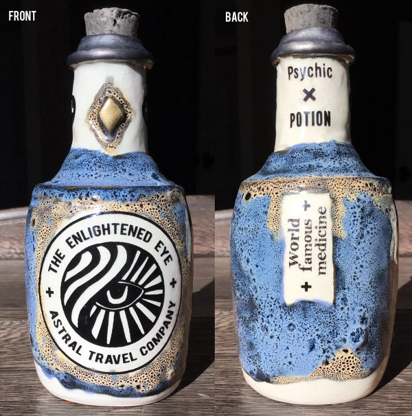 Image of Ceramic Bottle 10 - Astral Medicine