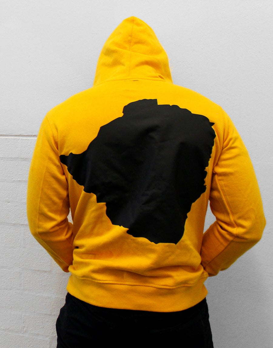 Image of Yellow Soul'd Dreams Hoodie (M)