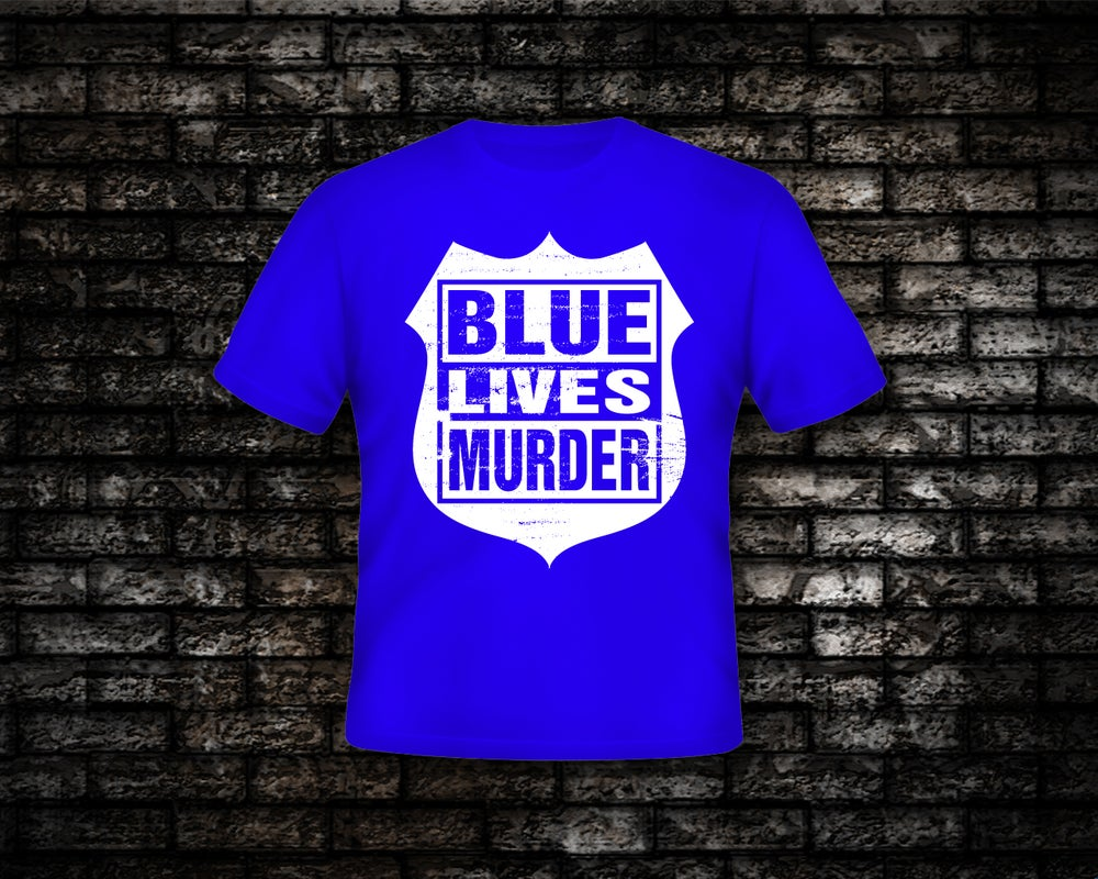 Image of Blue Lives Murder Reverse