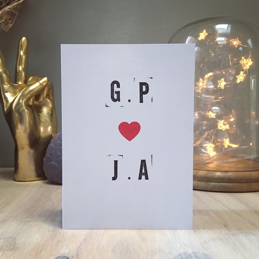 Image of Personalised Love U Cards