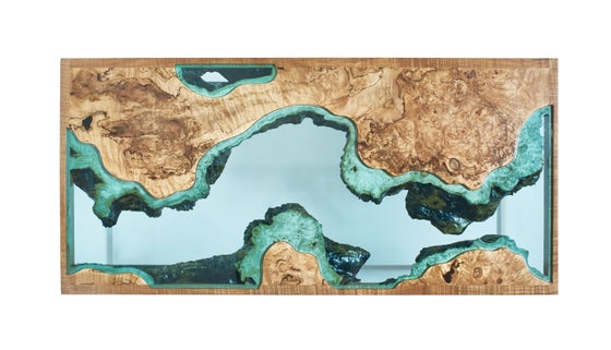 Image of Aerial Series River® Coffee Table No.1
