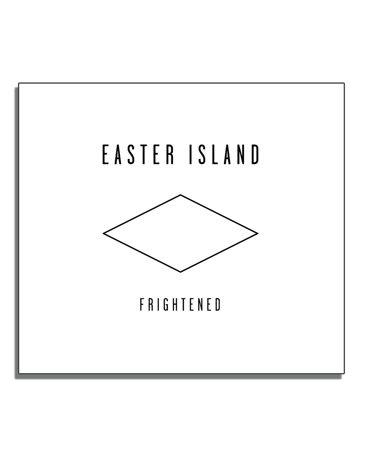 "Image of Easter Island ""Frightened"" Compact Disc"