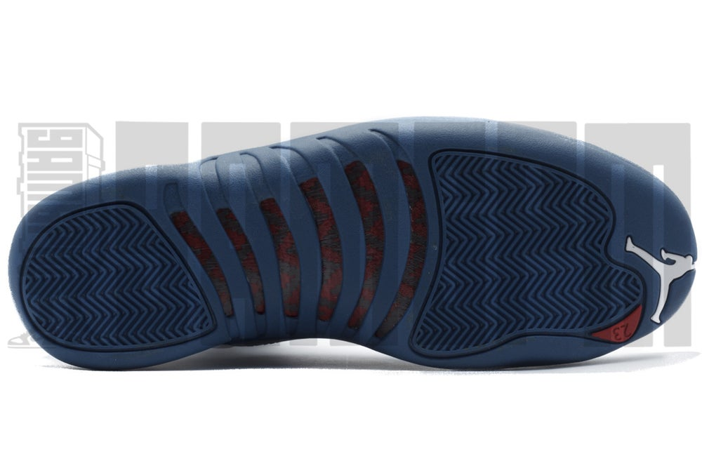 "Image of Nike AIR JORDAN 12 RETRO ""FRENCH BLUE"""