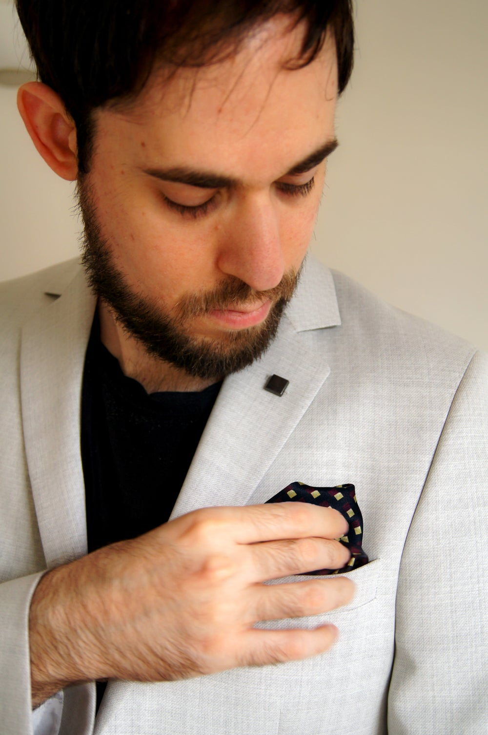 Image of ALGEBRA POCKET SQUARE