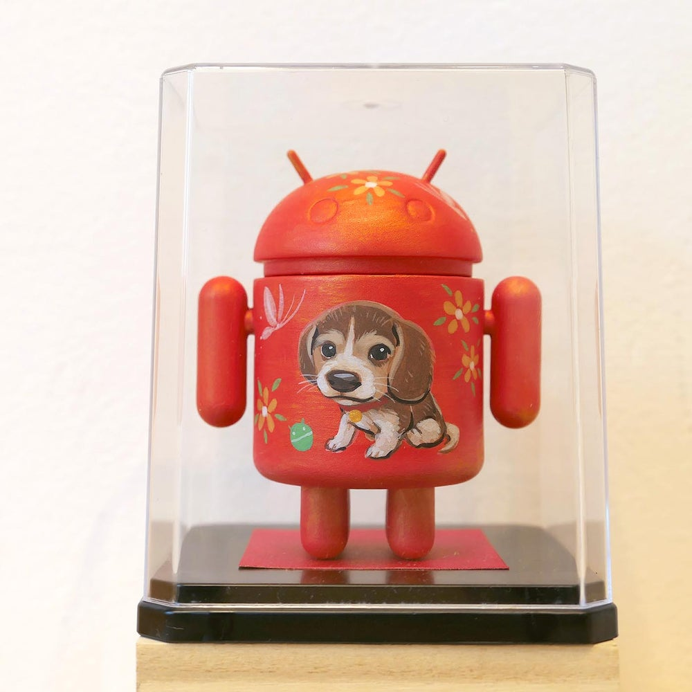 Image of Google Android Mini 'Year of the Dog'- Beagle