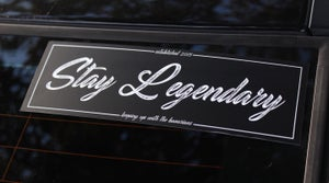 "Image of ""Stay Legendary"" Slap Sticker"