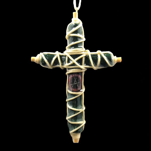 Image of Cross Canna Cigar Pendant