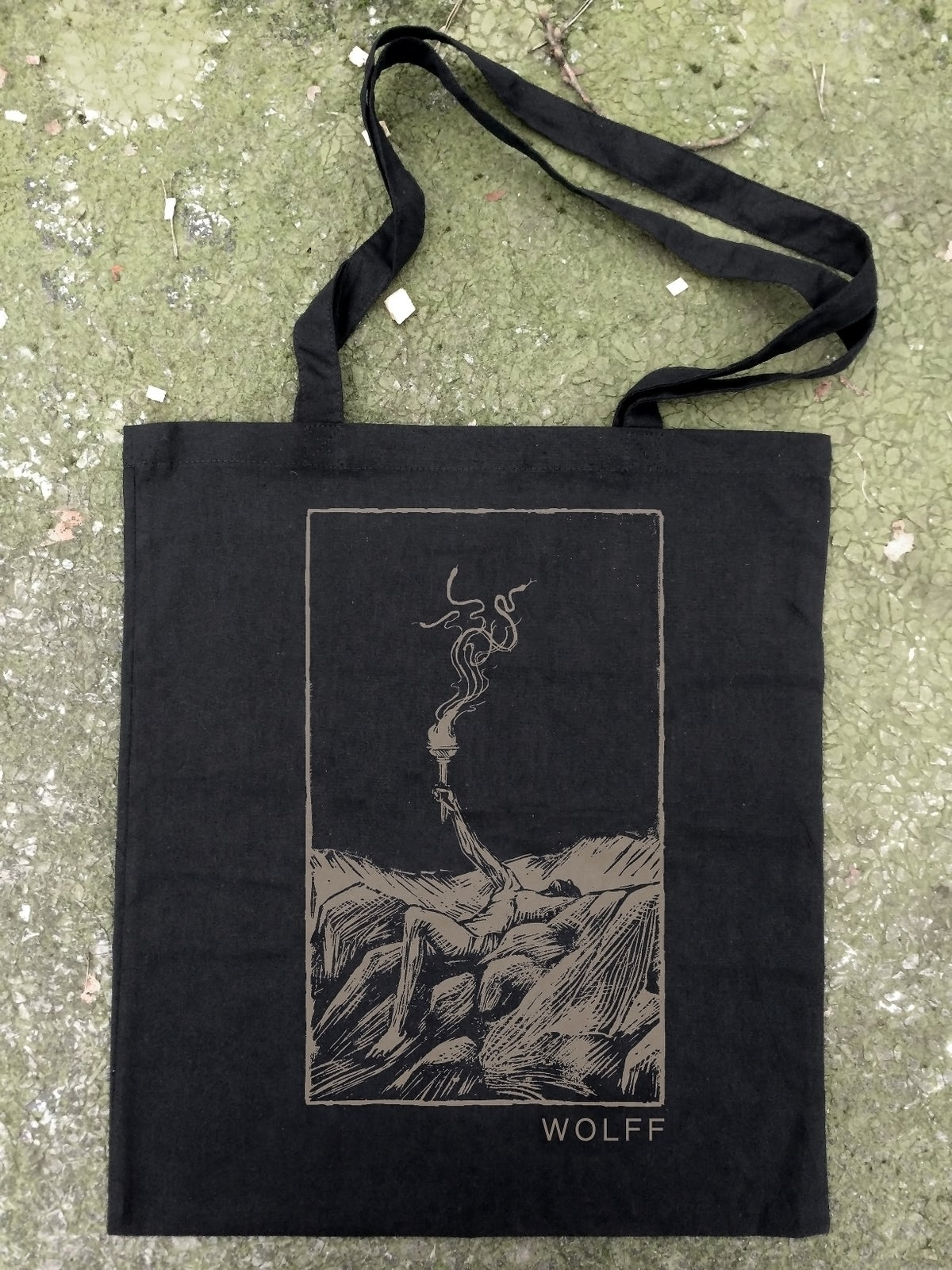 Image of Bag - Linocut