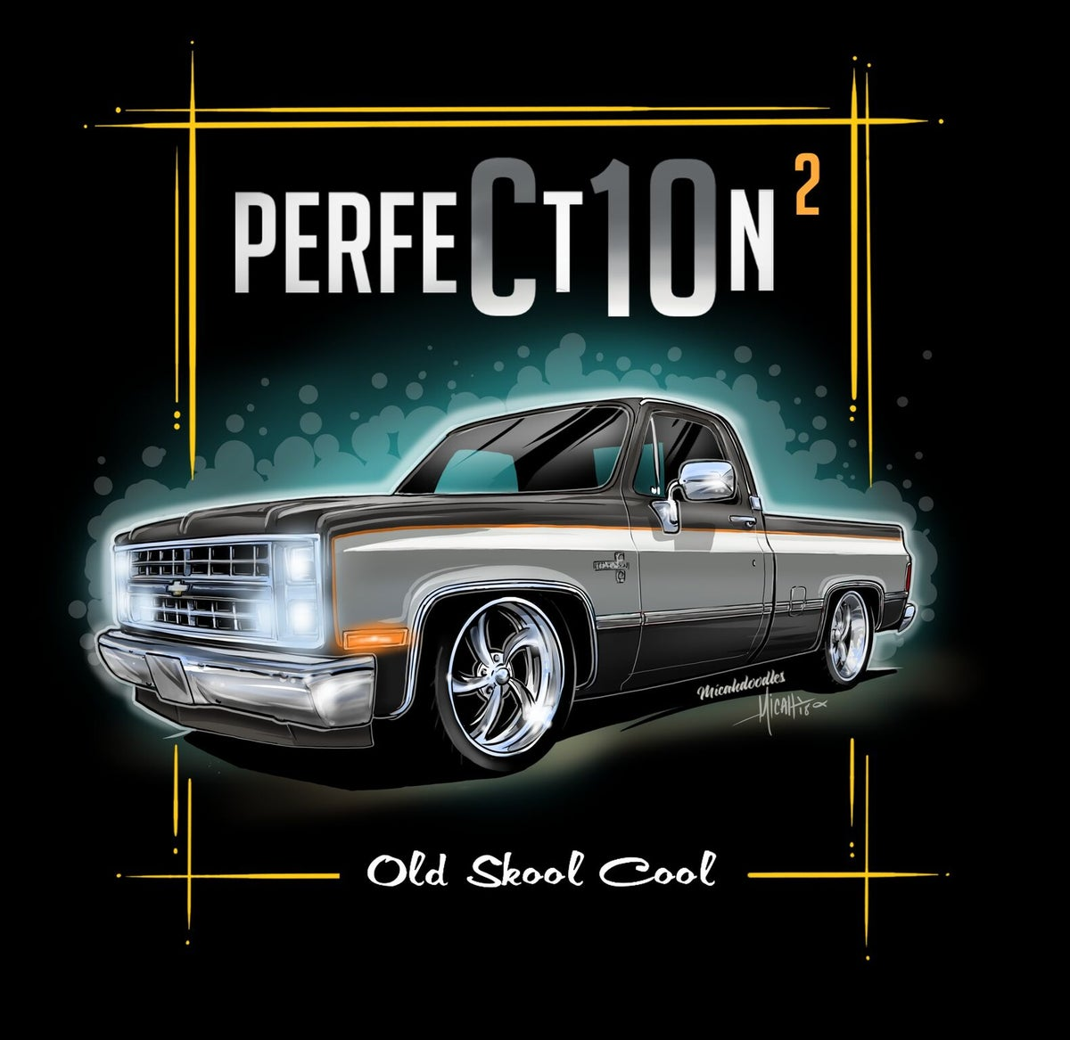 Cartoonedtees Squarebody Perfection2 Black Gray