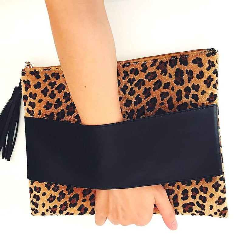 Image of Leopard Clutch