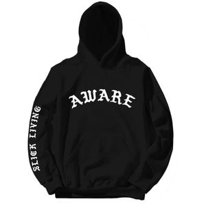 Image of SOLD OUT | AWARE OF THE SNAKES PULLOVER HOODIE | EXCLUSIVE RELEASE