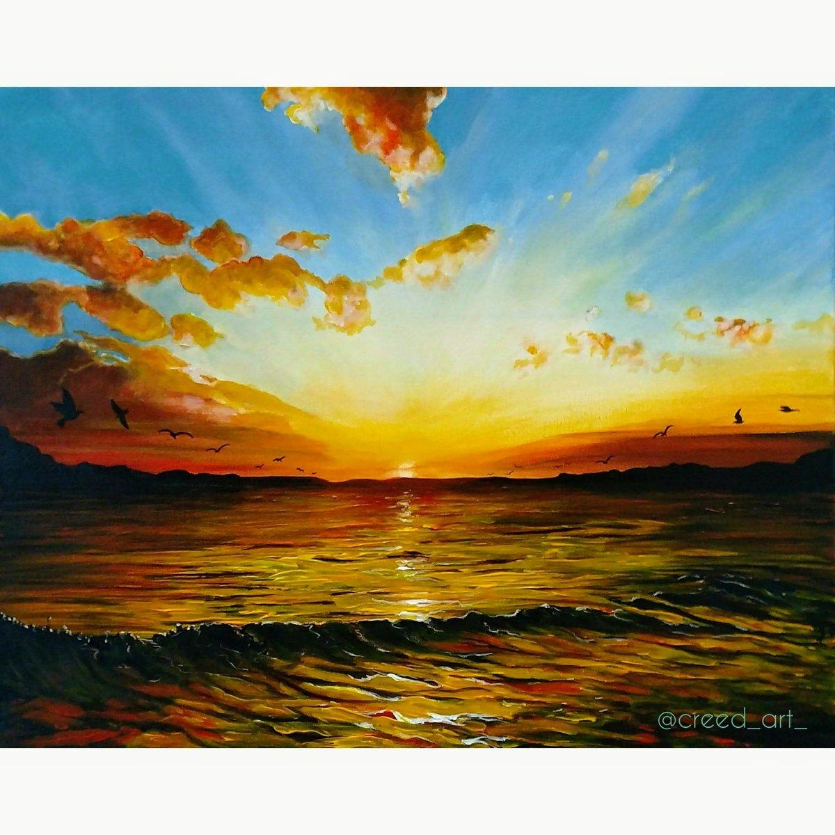 "Image of Original Painting ""Serenity"""