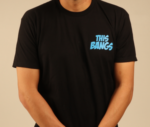 Image of This Bangs Black Tee