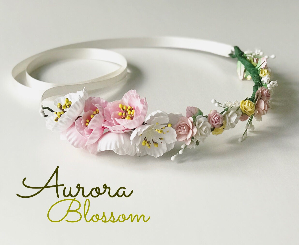 Image of AURORA BLOSSOM CROWNS