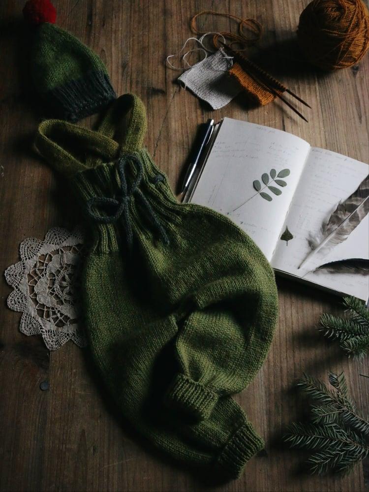 Image of LITTLE LOU Leggings / Overalls PDF knitting pattern