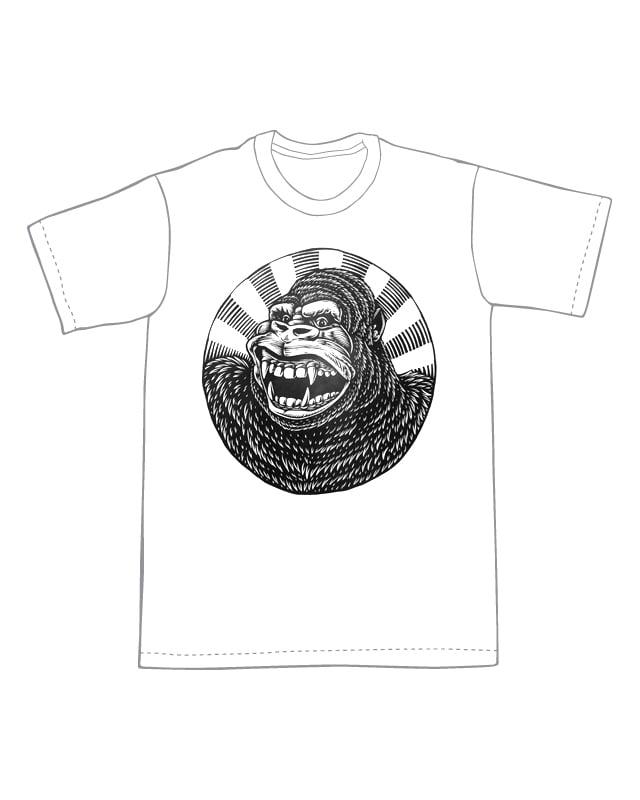 Generic City-Destroying Ape T-shirt (B3)**FREE SHIPPING**