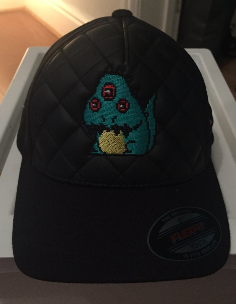 "Image of Urban Quilted fitted Cap - Retro-Monster Design ""Limited Edition"""