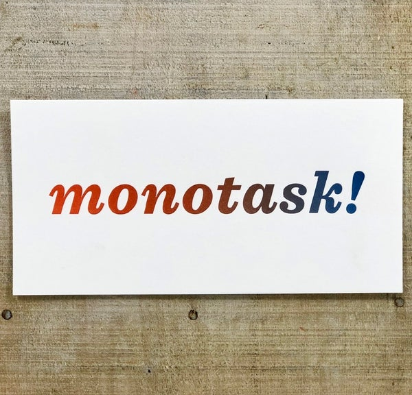 Image of Monotask!