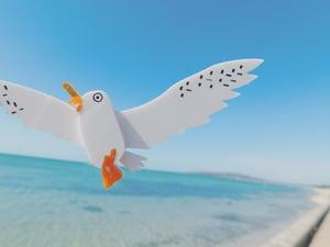 Image of Peninsula Bestie Seagull Brooch
