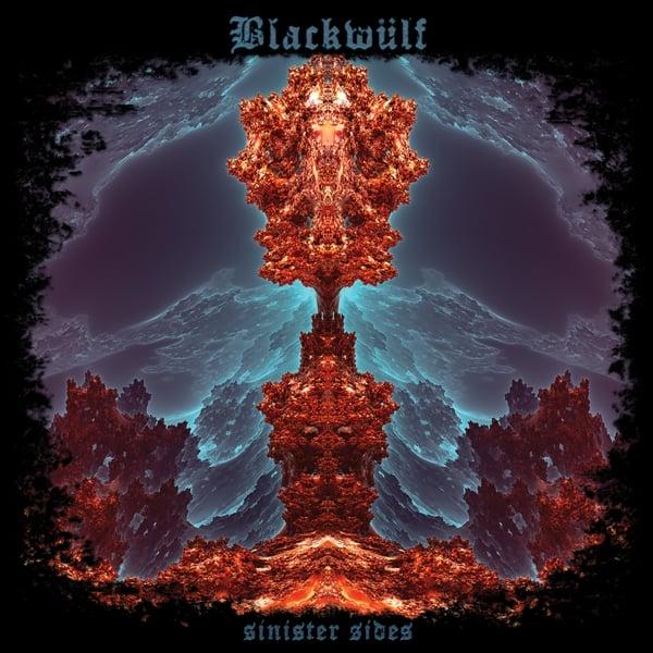 """Image of Blackwulf - Sinister Sides """"World wide"""" Black Vinyl Gatefold LP"""