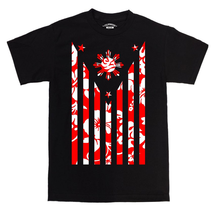 Image of WAVES - RED TEE