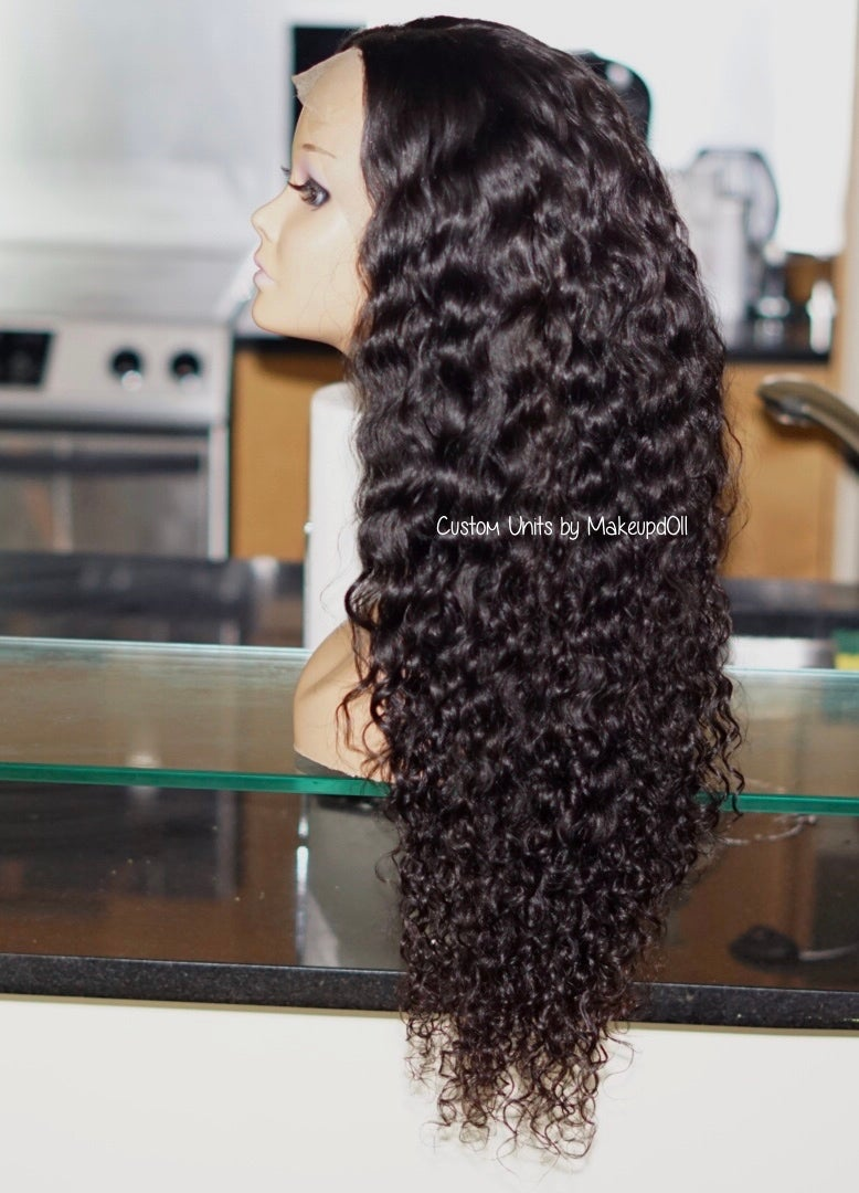 "Image of Cambodian Natural Wave 24"" Custom Lace Frontal Wig! (Super Full)"
