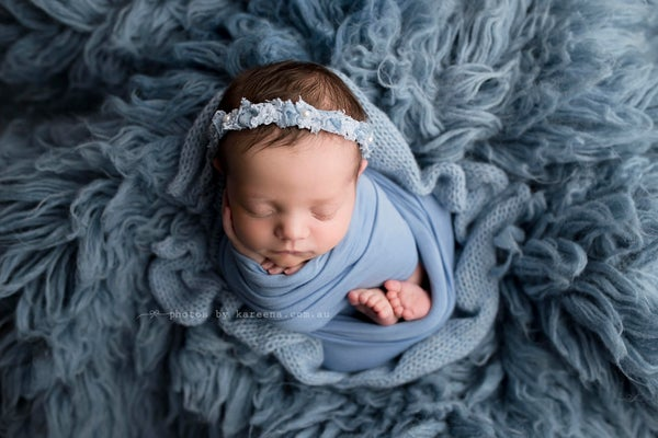 Image of Carolina Blue BabyPlush Wrap