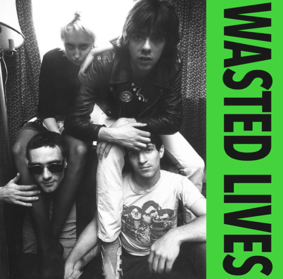 "Image of WASTED LIVES - s/t 7"" EP (1979) *FINAL COPIES*"