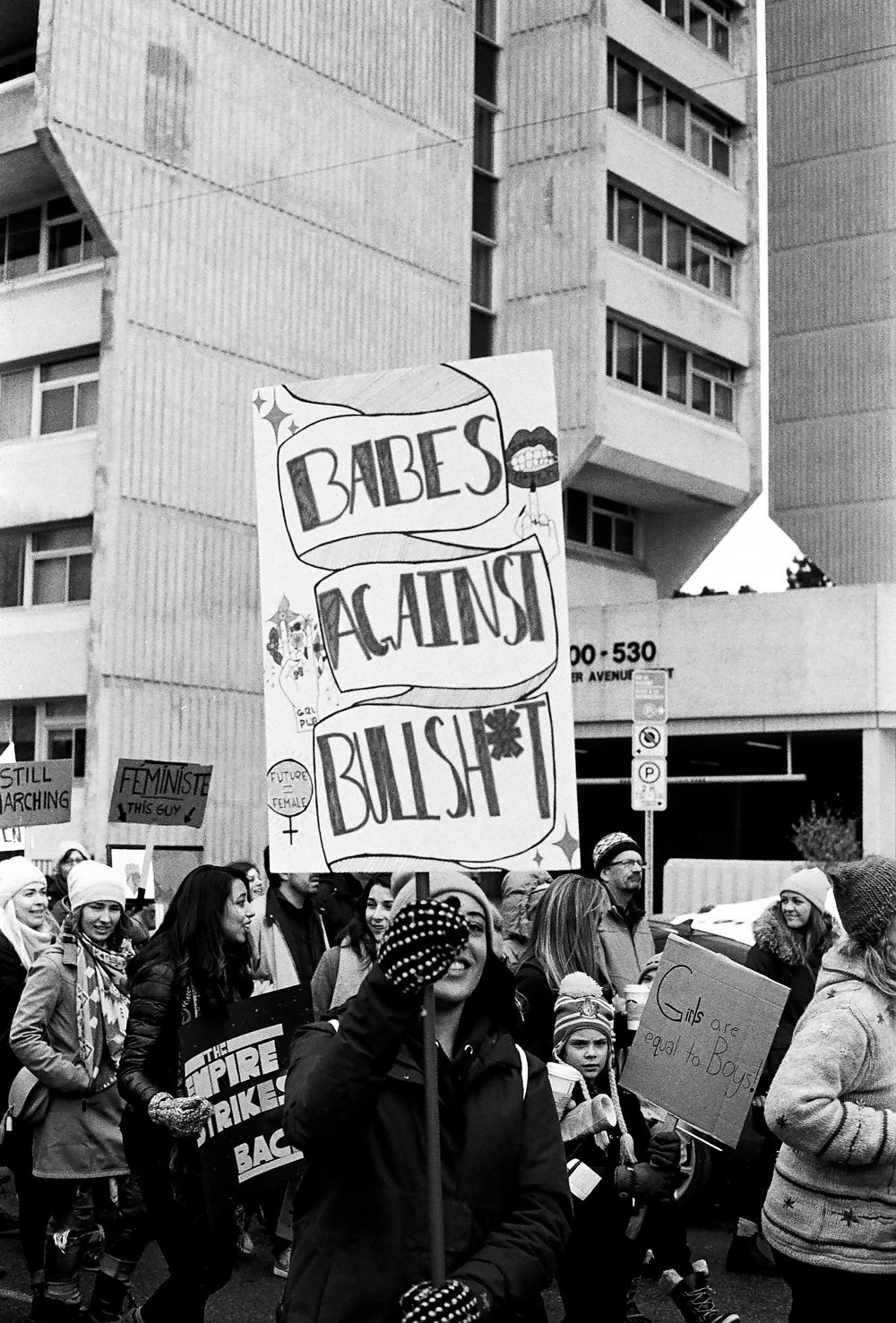 Image of Babes Against Bullshit