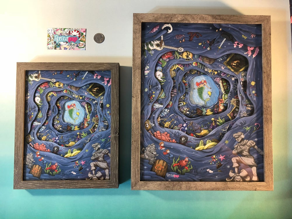 Image of Ariel's Treasure Deluxe Shadow Box