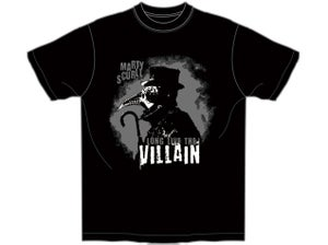 Image of Marty Scurll 'LONG LIVE THE VILLAIN' T-Shirt