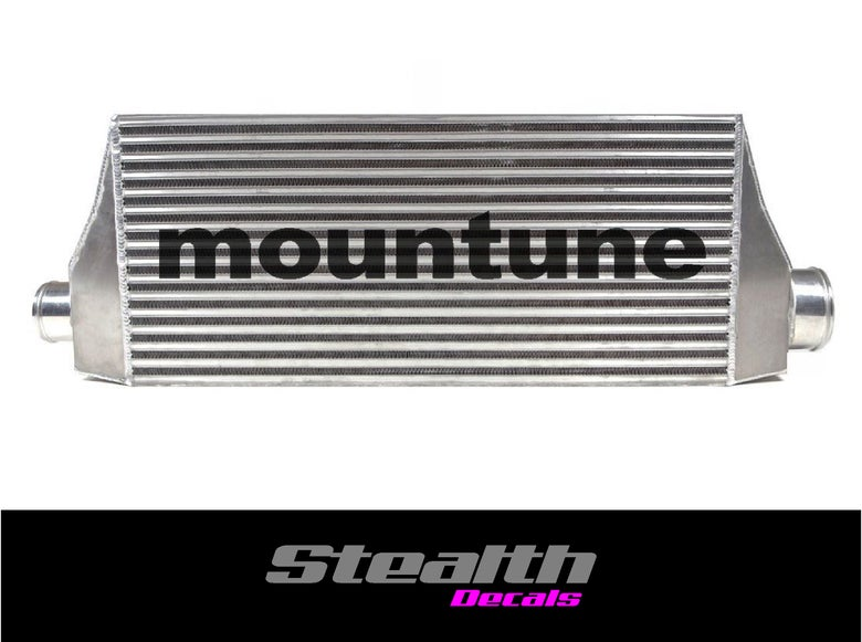 Image of Mountune Stencil Sticker