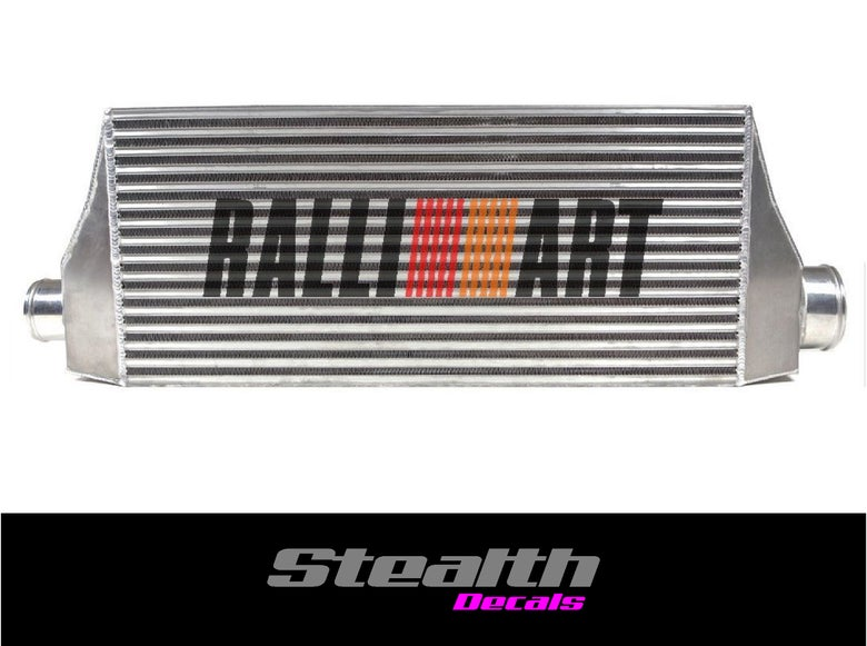 Image of RALLIART Stencil Sticker