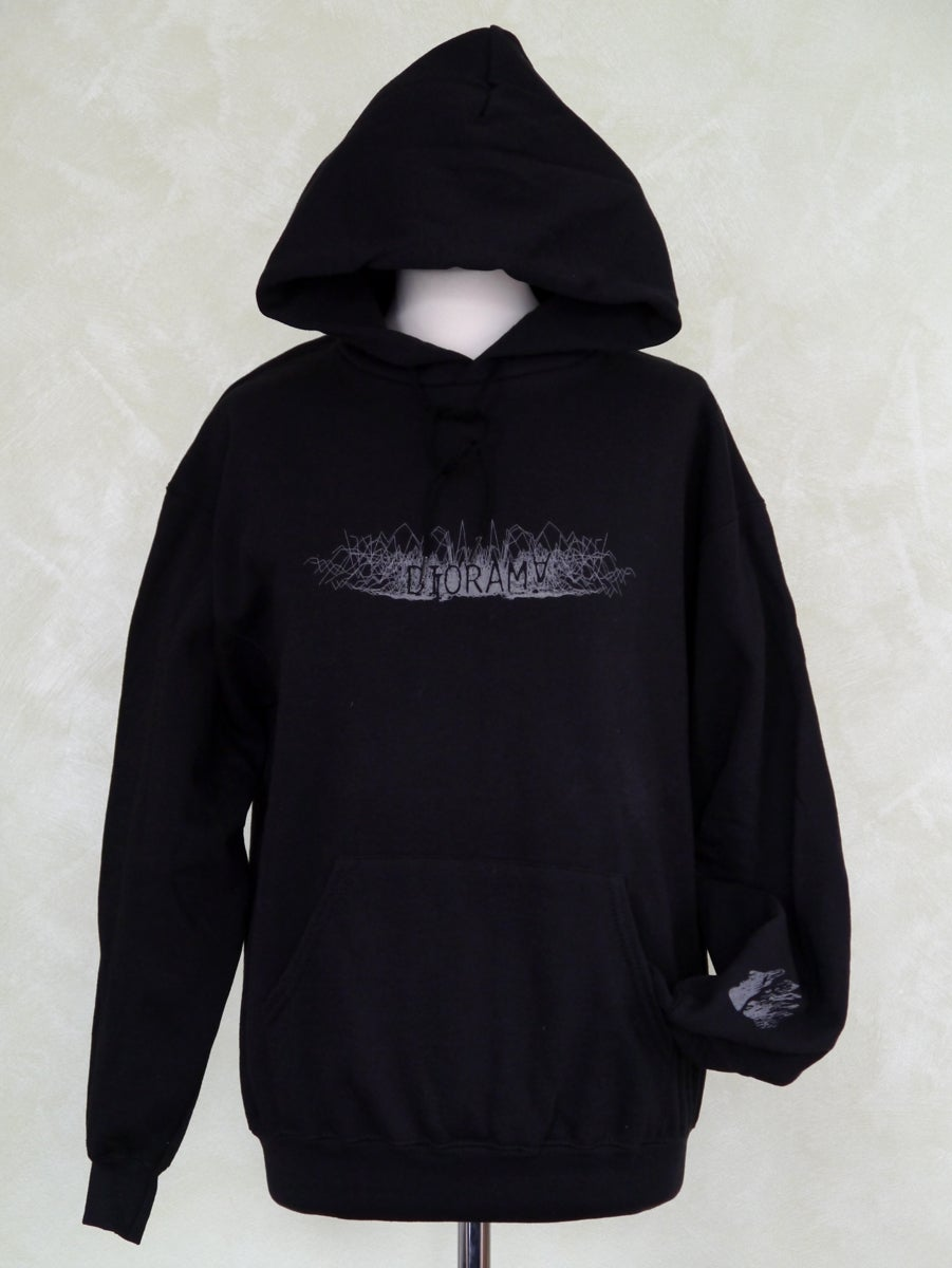 Image of girlie hoody crickl crackl logo